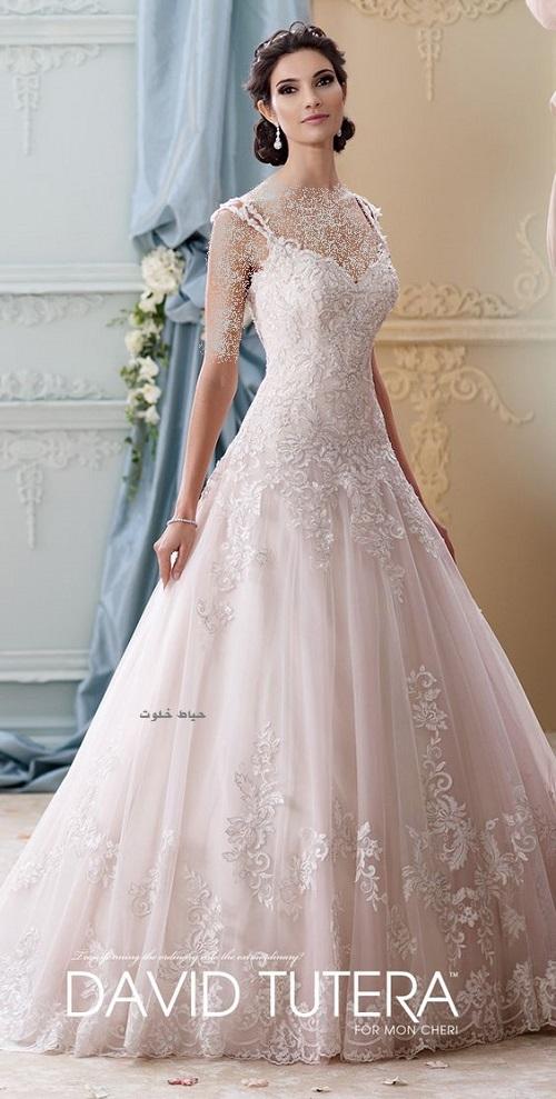 جدیدترین مدل های لباس عروس , لباس عروس دانتل