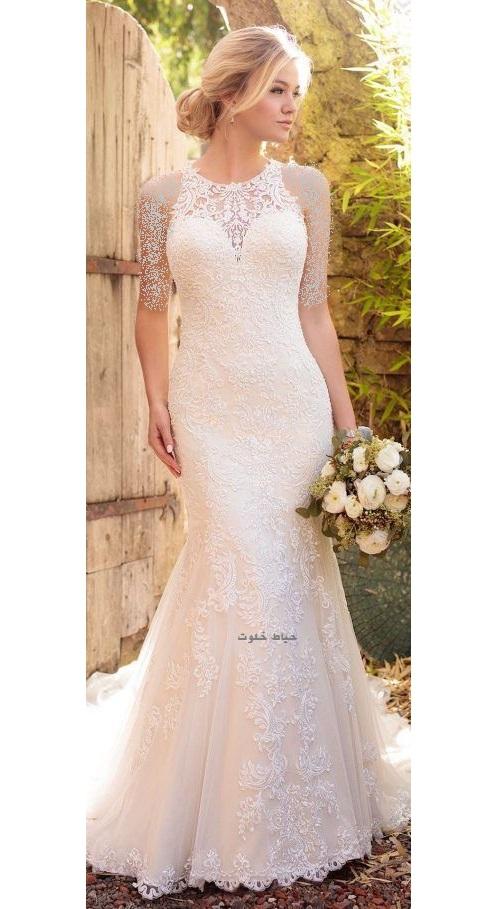 لباس عروس ترک , لباس عروس شیک و ساده