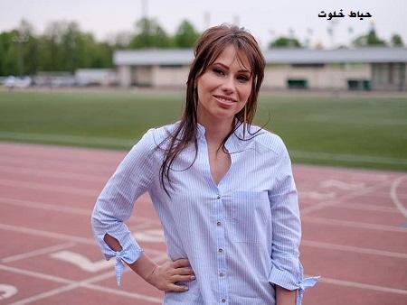 عکسهای ماریا کوماندنایا مجری زن قرعه کشی جام جهانی 2018