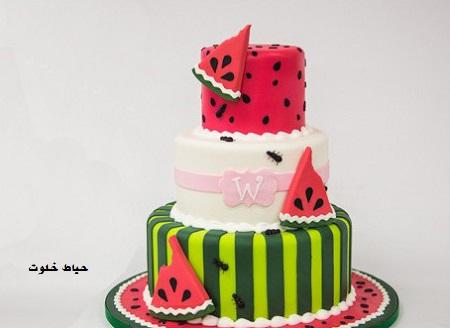کیک شب یلدا زیبا