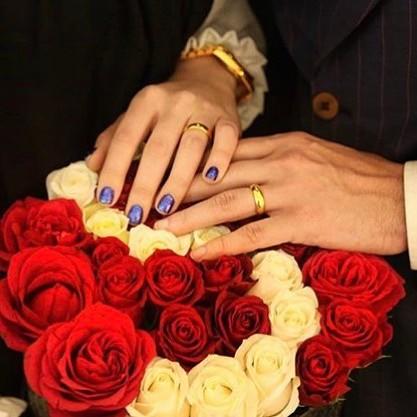مریم سلطانی با انتشار این عکس ازدواج محسن افشانی را تبریک گفت!