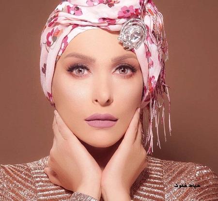 امل حجازی ، خواننده لبنانی که محجبه شد
