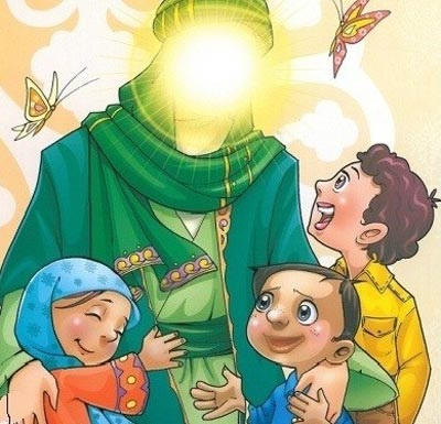 شعر کودکانه درباره حضرت محمد