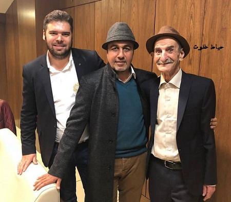 احمد پورمخبر و پسرش , رضا عطاران