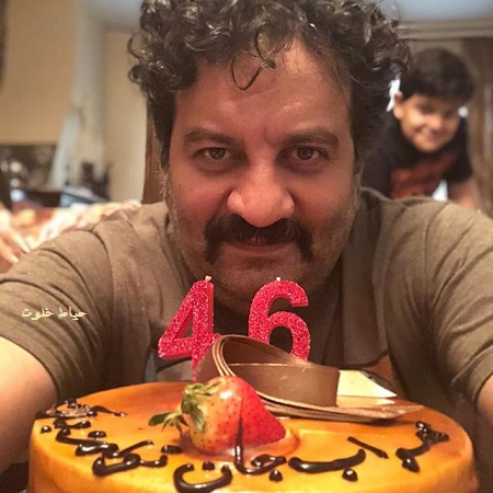 جشن تولد 46 سالگی مهراب قاسم خانی