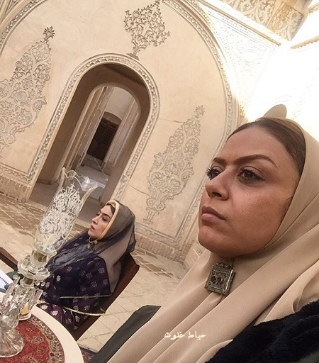 شبنم فرشادجو در سریال بانوی عمارت