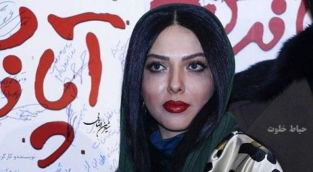 لیلا اوتادی در اکران فیلم آپاندیس