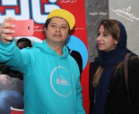 علی صادقی در اکران فیلم خالتور