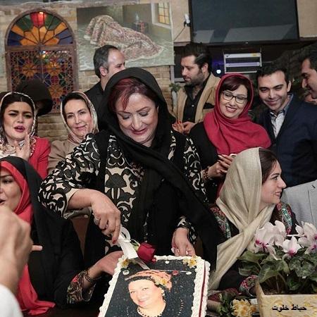 جشن تولد 70 سالگی مریم امیرجلالی