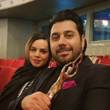 عکس جدید احسان خواجه امیری و همسرش