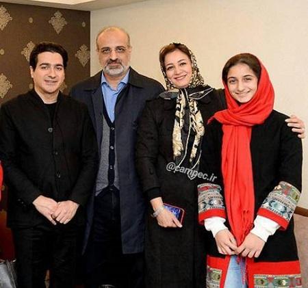 محمد اصفهانی و همسر و دخترش