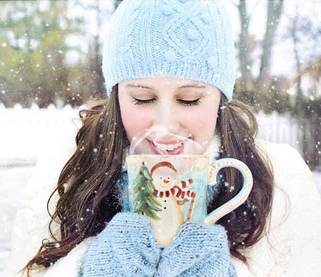عکس پروفایل دخترانه زمستانی