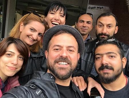 هومن سیدی بعد از پایان فیلمبرداری فیلم مصادره در ارمنستان