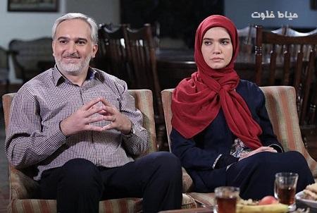 بیژن بنفشه خواه و متین ستوده در سریال لیسانسه ها 2