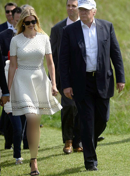 ایوانکا دختر دونالد ترامپ