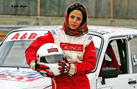 بیوگرافی و عکس های لاله صدیق بهترین راننده زن ایرانی