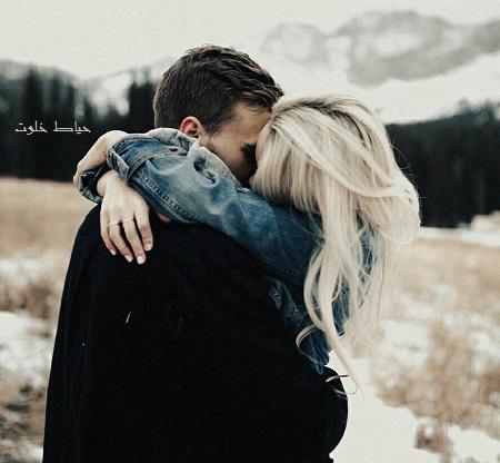 آغوش عاشقانه , عکس و متن عاشقانه جدید