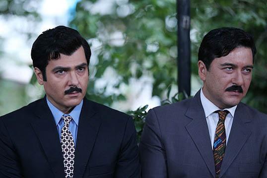 امیرحسین صدیق و کوروش تهامی در سریال آشوب