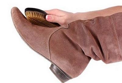 تمیز کردن کفش های جیر
