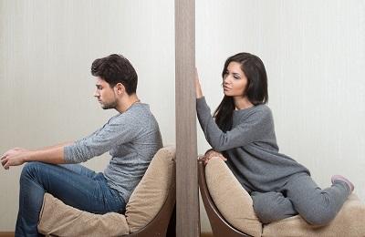 مردان عاشق , جدایی از عشق