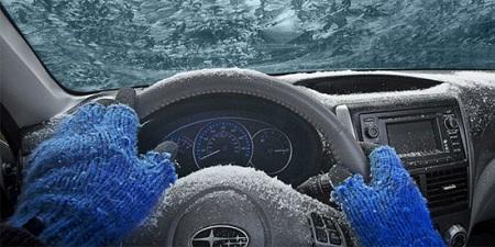 گرم کردن خودرو بصورت درجا