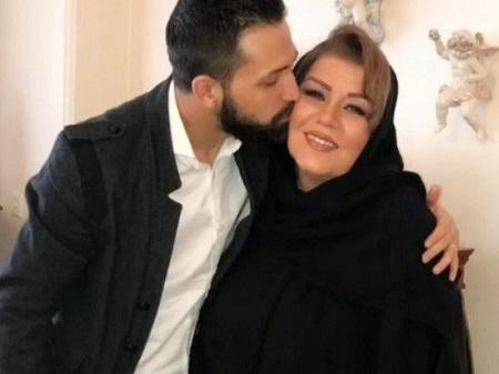 محسن افشانی و مادر زنش