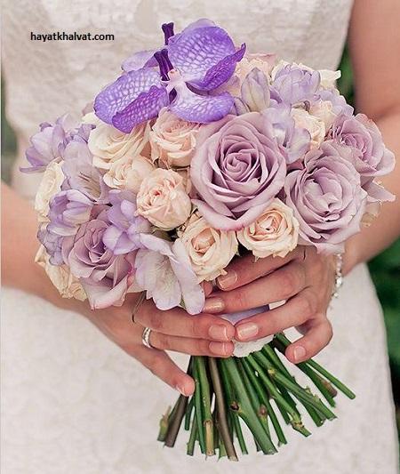 عکس مدل های دسته گل عروس