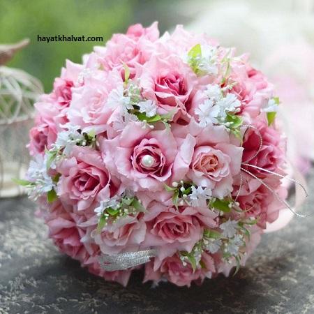 انواع مدل های دسته گل عروس