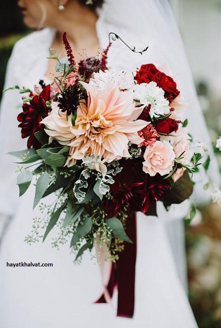 مدل های جدید دسته گل عروس