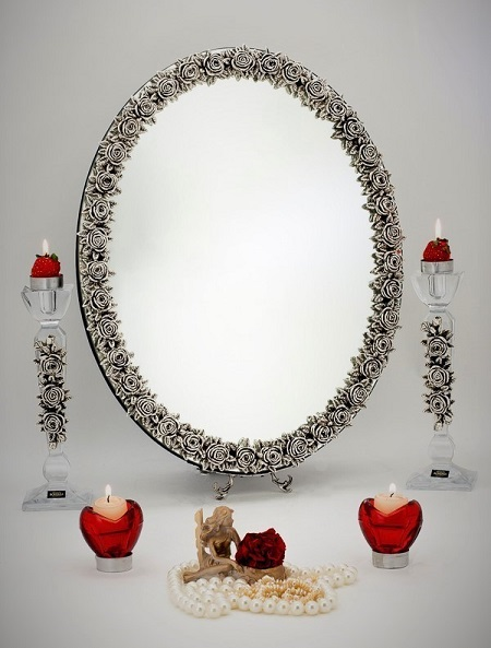 عکس مدل های جدید آیینه و شمعدان عروسی