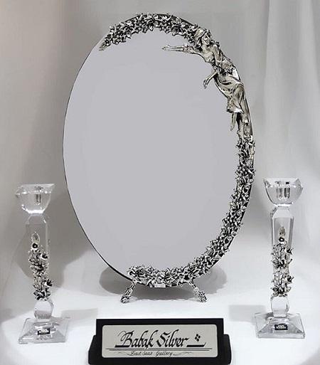 قیمت آیینه و شمعدان عروسی