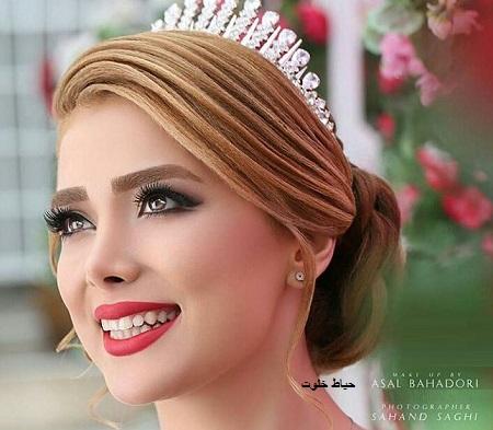 مدل های آرایش عروس ایرانی 97