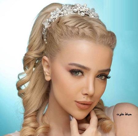 آرایش عروس ملایم و جذاب