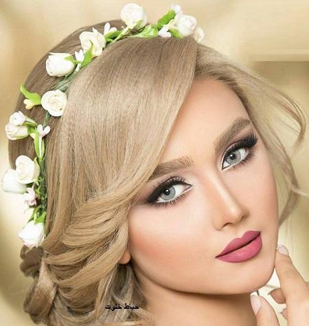 آرایش عروس ساده
