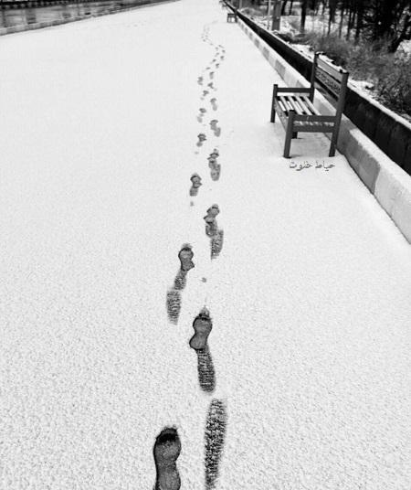 متن عاشقانه درباره روز های برفی