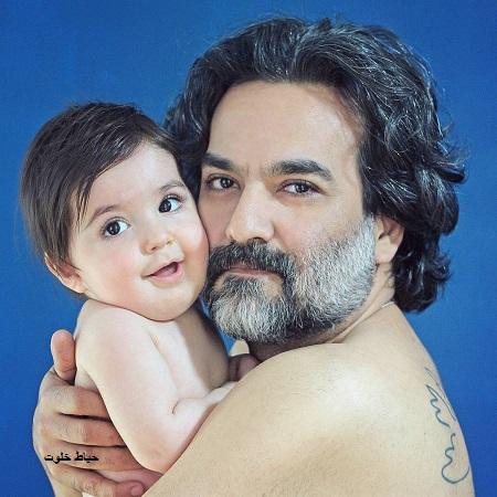 یغما گلرویی و پسرش