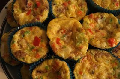 آموزش آشپزی؛طرز تهیه مافین سوسیس و تخم مرغ