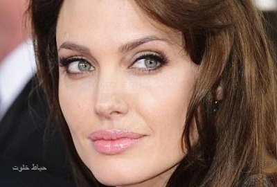 زیباترین چشم های جهان , آنجلینا جولی