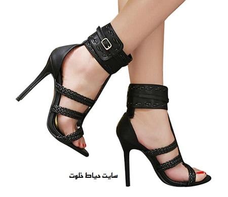 عکس مدل جدید کفش پاشنه بلند دخترانه مجلسی