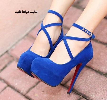عکس مدل های کفش پاشنه بلند مجلسی دخترانه