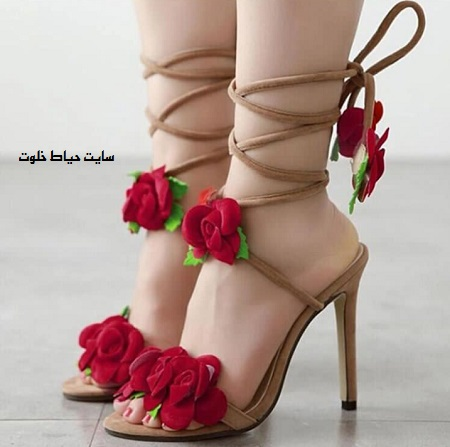 مدل جدید کفش پاشنه بلند زنانه 2018