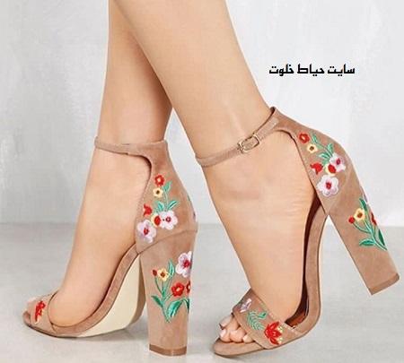 خرید کفش پاشنه بلند مجلسی زنانه