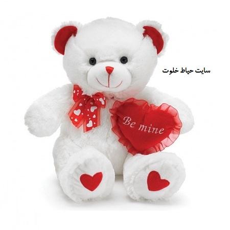 خرید عروسک خرسی برای ولنتاین