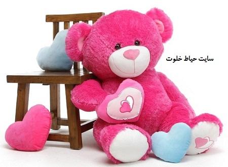 خرس عروسکی بزرگ و خوشگل