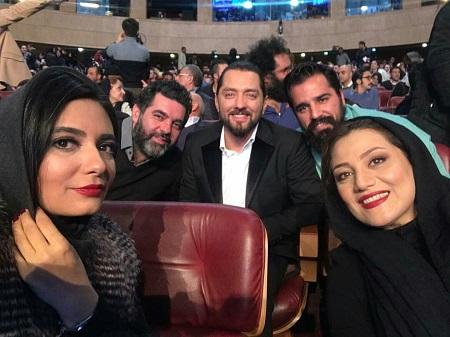 لیندا کیانی و شبنم مقدمی در سی و ششمین جشنواره فیلم فجر