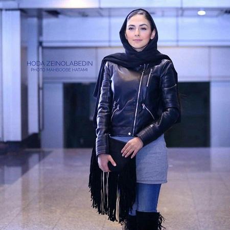 مدل مانتو هدی زین العابدین در افتتاحیه جشنواره فیلم فجر 36