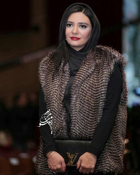 مدل مانتو لیندا کیانی در افتتاحیه جشنواره فیلم فجر 36