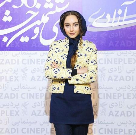 ترلان پروانه در افتتاحیه جشنواره فیلم فجر 36