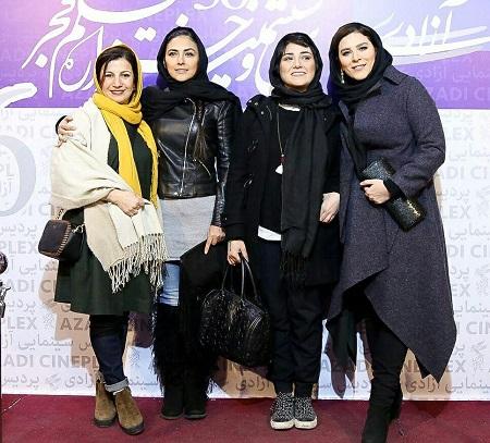 سحر دولتشاهی,باران کوثری,هدی زین العابدین و لیلی رشیدی