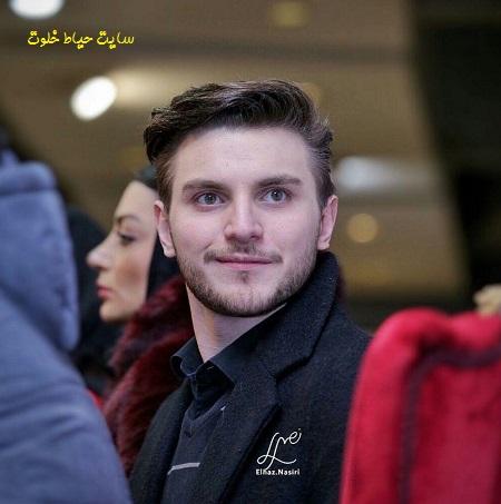 عکس دارا حیایی پسر امین حیایی در جشنواره فیلم فجر